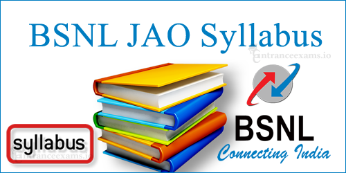 Download BSNL Junior Accounts Officer Syllabus 2017 18 | Detailed JAO Syllabus, Junior Accounts Officer Exam Pattern