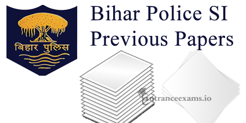 CSBC Bihar Police SI Model Papers PDF Download | Bihar Sub Inspector Daroga Exam Previous Question Papers