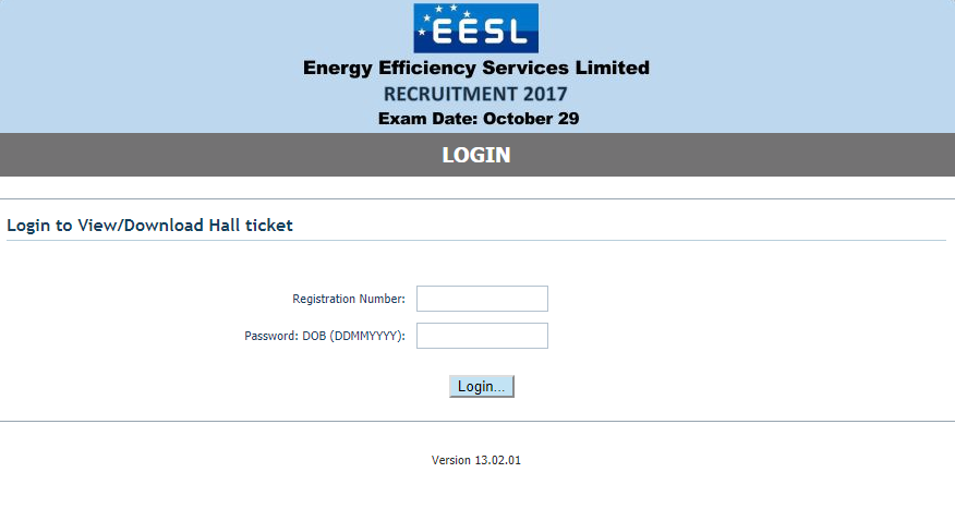 EESL Assistant Engineer Hall Ticket 2017 | eeslindia.org Assistant Manager Admit Card, Exam Date
