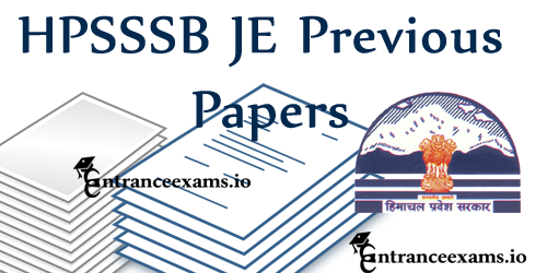 Himachal Pradesh HPSSSB Jr Engineer Model Question Papers | HPSSSB Exam Pattern 2017 @ www.hpsssb.hp.gov.in