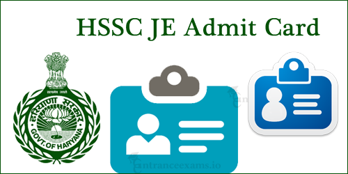 Download HSSC Junior Engineer Hall Ticket 2017   Haryana JE Exam Date @ hssc.gov.in