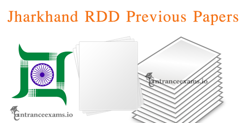 Last 5 Years Jharkhand Block Coordinator Previous Year Question Papers | JRDD Old Papers