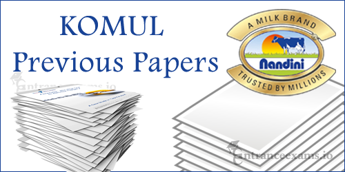 Download KOMUL Previous Year Question Papers | KOMUL Solved Papers @ www.komul.coop