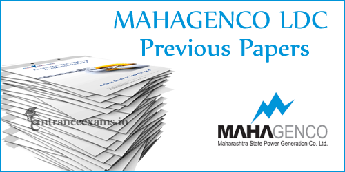 Magenco Lower Division Clerk Model Papers | MAHAGENCO LDC Solved Papers