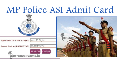 MP ASI Admit Card 2017 Download Steps | MPPEB Assistant Sub Inspector Exam Date @ vyapam.nic.in
