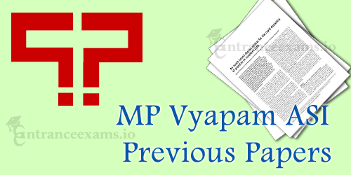 Download MP Vyapam ASI Steno Previous Papers | MPPEB Assistant SubInspector Model Papers