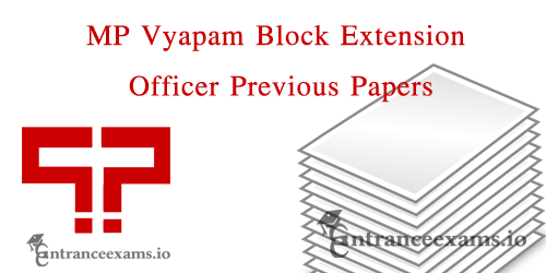 Download MP Vyapam BEO Old Question Papers | Group 1 Previous Year Papers, Exam Pattern