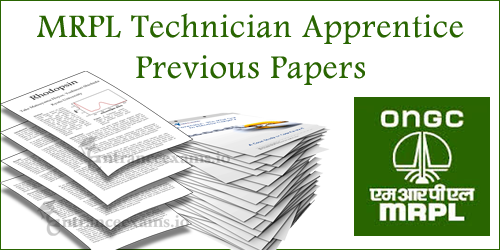 Download MRPL Graduate Apprentice Trainee Model Papers | MRPL Apprentice Papers @ mrpl.co.in