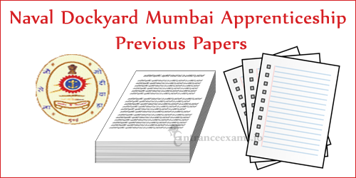 Download Mumbai Naval Dockyard Apprenticeship Trainee Model Papers @ www.joinindiannavy.gov.in