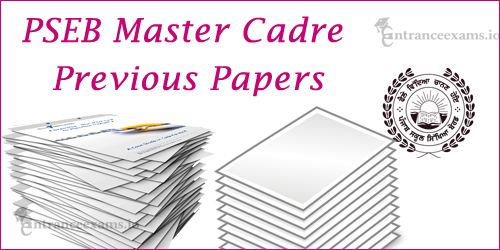 ERB Punjab Previous Year Question Papers | PSEB Master Cadre Teacher Sample Papers