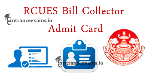 RCUES Admit Card 2021 Download Steps | AP ULB Bill Collector Hall Ticket