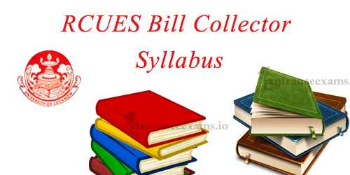 Download RCUES AP Bill Collector Syllabus | Topic Wise Junior Assistant Syllabus, Exam Pattern