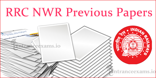 Download NWR RRC JE Model Question Papers | NWR ALP Exam Pattern @ nwr.indianrailways.gov.in