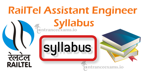 Download RailTel AE AGM SM Syllabus 2017 PDF   RCIL Assistant Engineer Exam Pattern