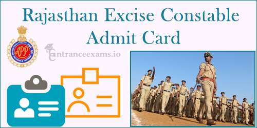 Rajasthan Excise Constable Admit Card 2017 | Raj Abkari Vibhag Exam Date @ rajexcise.gov.in