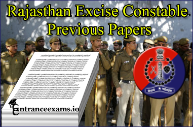 Rajasthan Excise Constable Previous Papers | Raj Abkari Vibhag Model Papers @www.rajexcise.gov.in