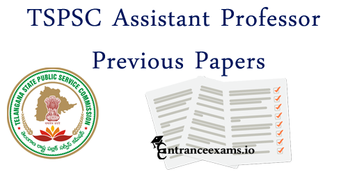 Download Telangana PSC Assistant Professor Model Papers | DME Telangana Assistant Professor Sample Papers, TSPSC Asst Prof Exam Pattern
