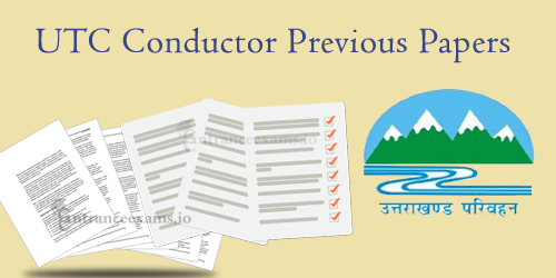 Download UTC Conductor Previous Year Question Papers | UTC Sanvida Parichalak Exam Pattern 2017