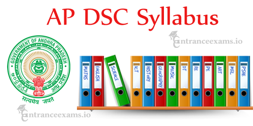 AP DSC Teacher Syllabus | apdsc.cgg.gov.in Teacher Syllabus 2018, AP State DSC SGT, PET, LP, SA Exam Pattern