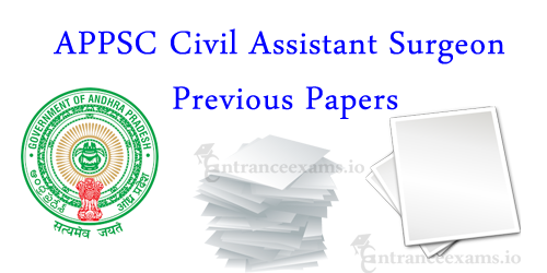 Andhra Pradesh PSC Civil Assistant Surgeon Old Question Papers | APVVP CAS Exam Model Papers