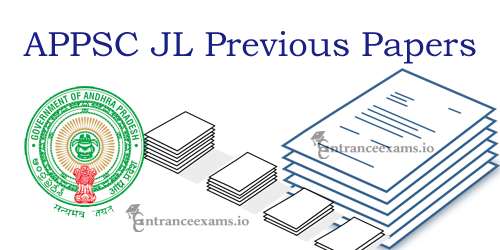 Download APPSC Junior Lecturer Previous Question Papers Pdf