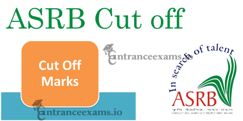 ASRB Cut Off Marks 2017   ICAR ASRB Lower Division Clerk Score Card, Merit List