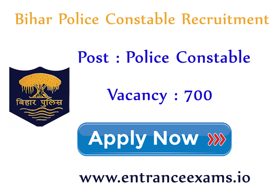 Bihar Police Constable Driver Recruitment 2017 18 | Apply for 700 Bihar Police Constable Jobs @ biharpolice.bih.nic.in