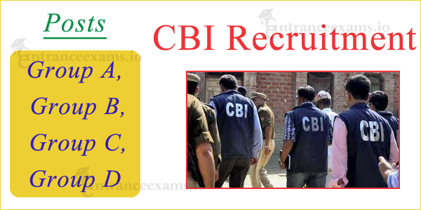 Central Bureau of Investigation Recruitment 2017 | Current Job Openings in CBI Apply Online