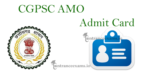 CGPSC Admit Card 2021 for Ayurveda Medical Officer | Chhattisgarh AMO Physician Exam Date