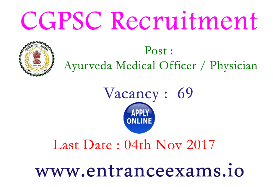 128 CGPSC Forest, AMO Posts   Apply Chhattisgarh PSC Recruitment 2017 18 @ psc.cg.gov.in