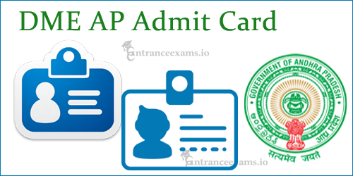 DME AP Admit Card 2017 Download Steps | www.dme.ap.nic.in Assistant Professor Hall Ticket