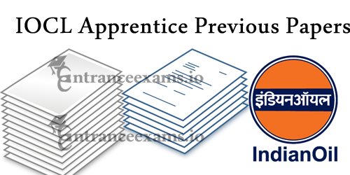 Download IOCL Non Technical Trade Apprentice Old Question Papers