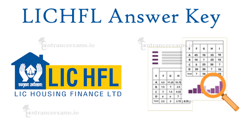 LIC Housing Finance Assistant Answer Key 2017   LICHFL AM Exam Solutions