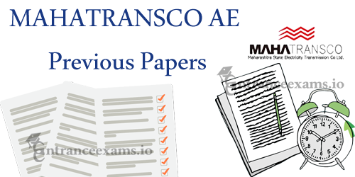 Download MAHA Transco Assistant Engineer Previous Year Question Papers