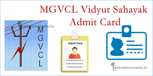 MGVCL Admit Card 2017 Junior Engineer | Download GUVNL Junior Assistant Hall Ticket