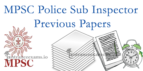 Maharashtra PSI Previous Question Papers | Last 5 Years MPSC Police SI Exam Papers