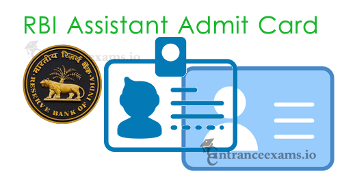 RBI Assistant (Prelims & Mains) Admit Card 2017 | www.rbi.org.in Call Letter Download Steps