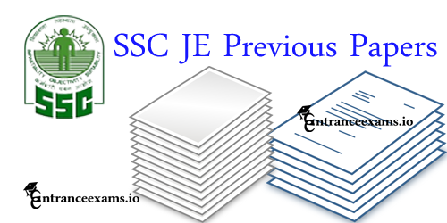 Last 5 Years SSC Junior Engineer Previous Year Question Papers   SSC JE Solved Papers