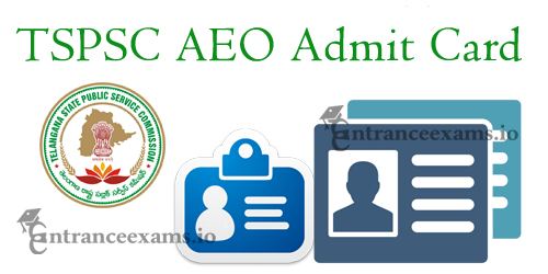 TSPSC Agriculture Extension Officer Hall Ticket 2017 | Telangana AEO Exam Date @ tspsc.gov.in
