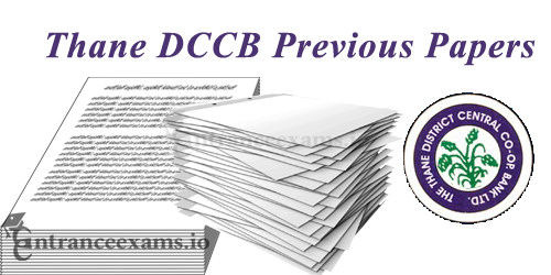 Download DCCB Thane Senior Banking Assistants Old Question Papers PDF