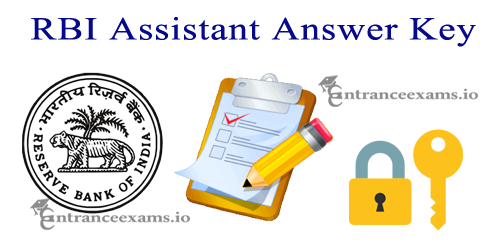 Reserve Bank of India Assistant Answer Key 2017   RBI Assistant Cut Off, Result