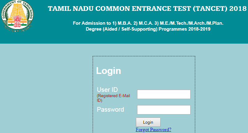 TANCET 2019 Hall Ticket Download | TANCET Admit Card 2019 & Tamil Nadu CET Exam Date